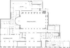 marriage hall floor plan the grand ballroom a landmark new york location the plaza nyc