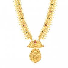 gold long necklace images Necklaces gold long necklace sri vasavi thangamaaligai jpg