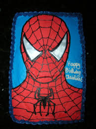 spiderman sheetcake cakecentral com
