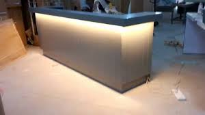 Wood Reception Desk by Beauty Lacquer Wood Reception Desk With Drawers And Sockets Youtube