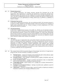 business management and behavioural studies