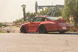 porsche rwb rwb porsche 993 on rotiform wheels video rides magazine