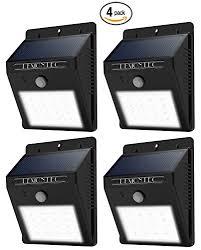 bright night solar lighting solar lights lemontec garden waterproof wireless security bright