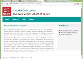 cara membuat halaman utama web dengan php tutorial code igniter part 7 menilkan daftar berita dan