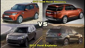 land rover discovery expedition 2017 land rover discovery vs 2018 ford expedition comparison