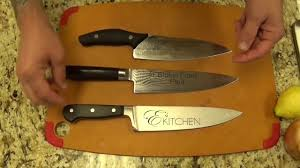 great kitchen knives the best chef u0027s knife with paul ayo youtube