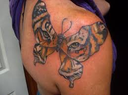 tiger butterfly design meaning images