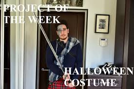 project of the week halloween costume youtube