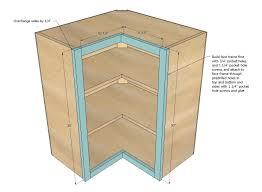 ana white wall kitchen corner cabinet diy projectsikea depth