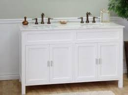 60 Inch White Vanity Shop Bathroom Vanities 49 To 60 Inches Wide With Free Shipping