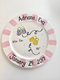 birth plates personalized personalized birth plate baby girl plate baby boy plate birth