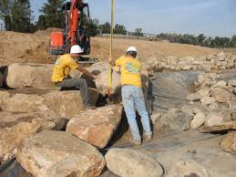 pond and waterfall construction landscape design pondless algae