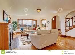 Livingroom Light Bright Living Room In Light Ivory Tones Stock Photo Image 42489278