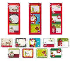 amazon com christmas gift tags self stick adhesive stickers