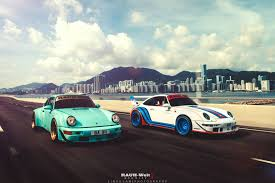 porsche rwb photo of the day double rwb porsche 911 in hong kong gtspirit