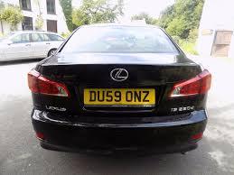 used lexus uk sale used lexus is 220d se i black 2 2 saloon caerphilly south