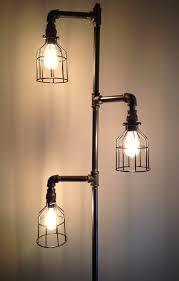 Industrial Looking Lighting Fixtures Industrial Plumbing Pipe Floor L
