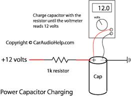 car audio capacitor installation at wiring diagram gooddy org