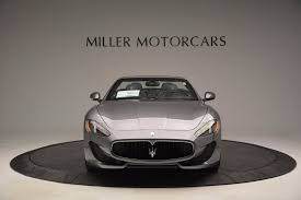 custom maserati granturismo convertible 2017 maserati granturismo sport stock m1831 for sale near