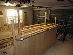 Bamboo Bar Top Tiki Bar