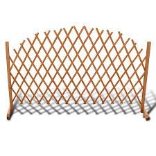 extendable wood trellis fence 5 u0027 11