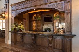 Rustic Mediterranean Kitchen Rustic Lodge Kitchen Design With Wine Idea Wine Themed Kitchen