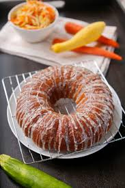 the chubby vegetarian alisa u0027s summer vegetable bundt cake