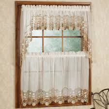 Seville Curtains Seville Tier And Swag Window Treatment
