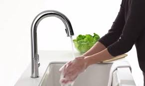 kohler touch kitchen faucet best touchless motion sensor powered pull kitchen faucets