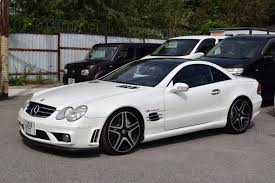 used mercedes for sale used mercedes benz sl 55 amg 5 4 v8 kompressor automatic alabaster