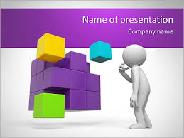 transformative cube powerpoint template u0026 backgrounds id