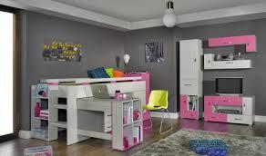 lit combiné bureau fille lit enfant combiné avec bureau coulissant pas cher vera