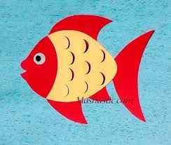 paper fish making paper animals and fish for kids pinterest