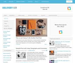 templates blogger themes delivery lite blogger template newbloggerthemes com