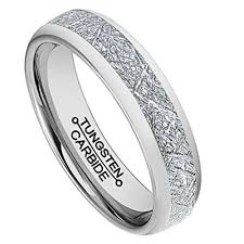 tungsten women rings images 6mm unisex or women 39 s tungsten wedding band silver inspired jpg