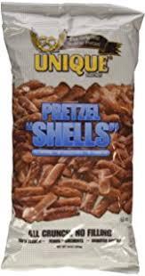 unique pretzels shells 10 ounce