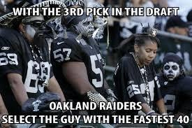 Raiders Chargers Meme - raiders draft nfl memes pinterest raiders nfl memes and