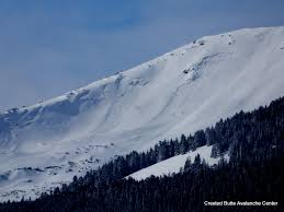 Rock Slides Will Remain Common Because Of The Significant Snowpack Cbac Forecaster U0027s Blog