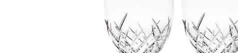 vera wang crystal drinkware flutes goblets u0026 wine glasses