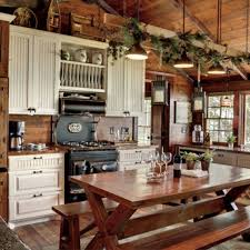 Cabin Style Cabin Kitchen Design 25 Best Ideas About Rustic Cabin Kitchens On