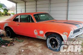 rare muscle cars a pair of ss396 novas rare finds rod network
