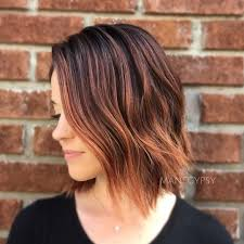 hairstyle for older women short style in warm mahogany 30 stunning balayage short hairstyles 2018 hot hair color ideas
