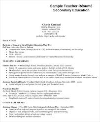 resume templates for teachers 44 sle resume templates free premium templates