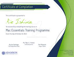 certificate of completion design by mocolief on deviantart