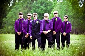 groomsmen attire for wedding purple groomsmen attire wedding 3 purple