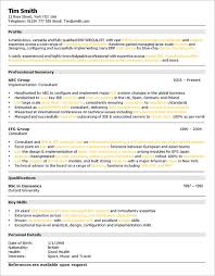 Examples of a Skills Based CV Brefash