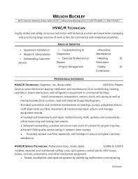 monster worldwide inc hvac technician resume sample monster com