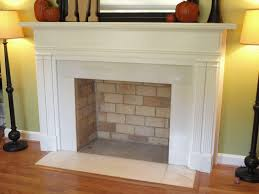 how to make a fake fireplace out of a bookshelf fireplace