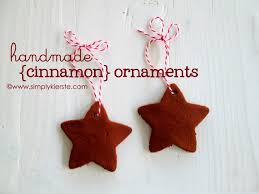 handmade cinnamon ornaments recipe cinnamon ornaments simple