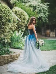 ombré wedding dress blue ombre wedding dress wedding dresses wedding ideas and
